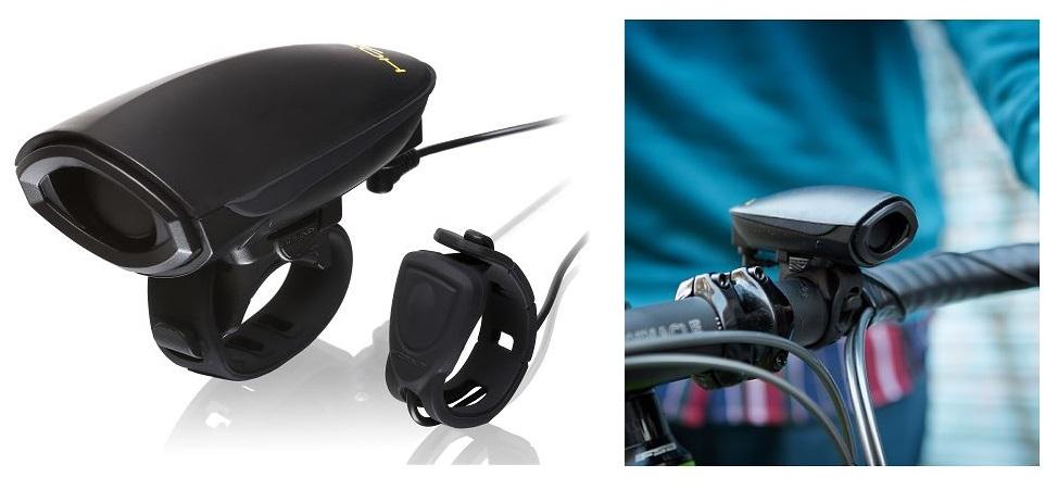 PROFI Laute Fahrradklingel Glocke 140dB elektrische Klingel Fahrrad Hupe Horn