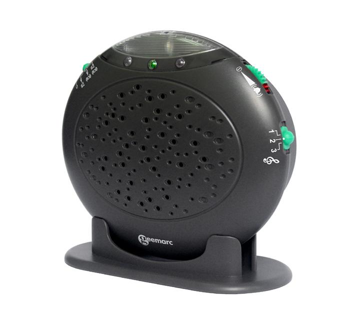 PROFI Ruftonverstärker Licht & Ton Klingel für Festnetz Telefon Amplicall 10