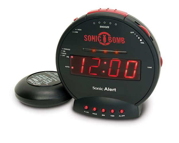 PROFI Wecker extra lautem Alarm 85dB Sonic Bomb vibrationsalarm Hörgeschädigte