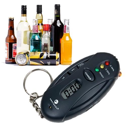 PROFI Alkoholtester Alkohol Promille Tester KFZ Auto Alkoholgehalt pusten testen