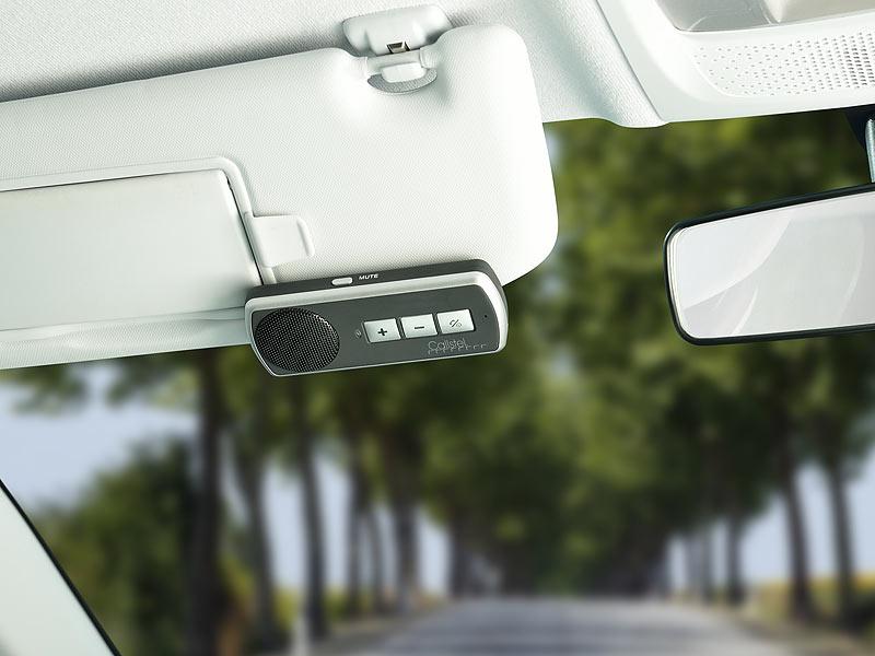 Freisprecheinrichtung Bluetooth OHNE Montage z.B iPhone 5 6 6s Freisprechanlage