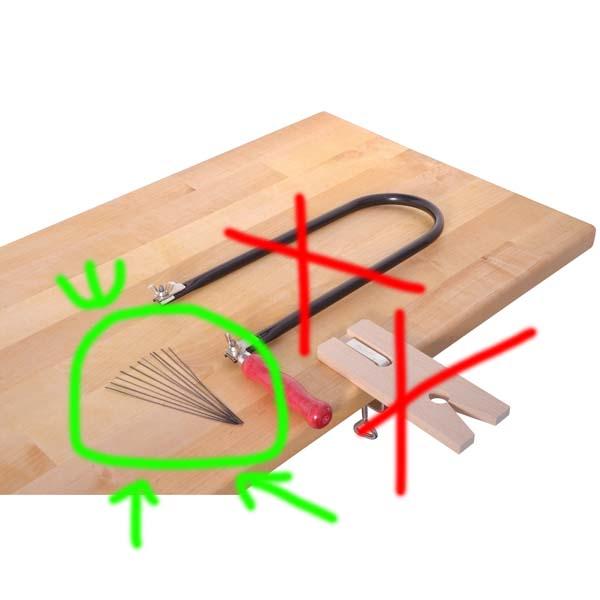 12 Sägeblätter für Laubsägebogen 13cm Sägeblatt Laubsäge Bogensäge Holzbilder