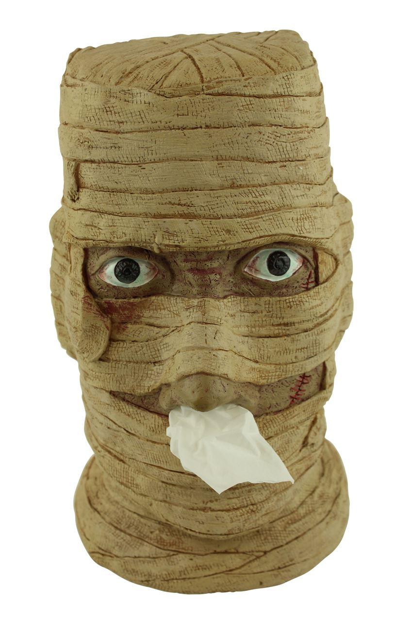 MUMIE Taschentuch Spender Halter Taschentuchspender Taschentücher Box Halloween