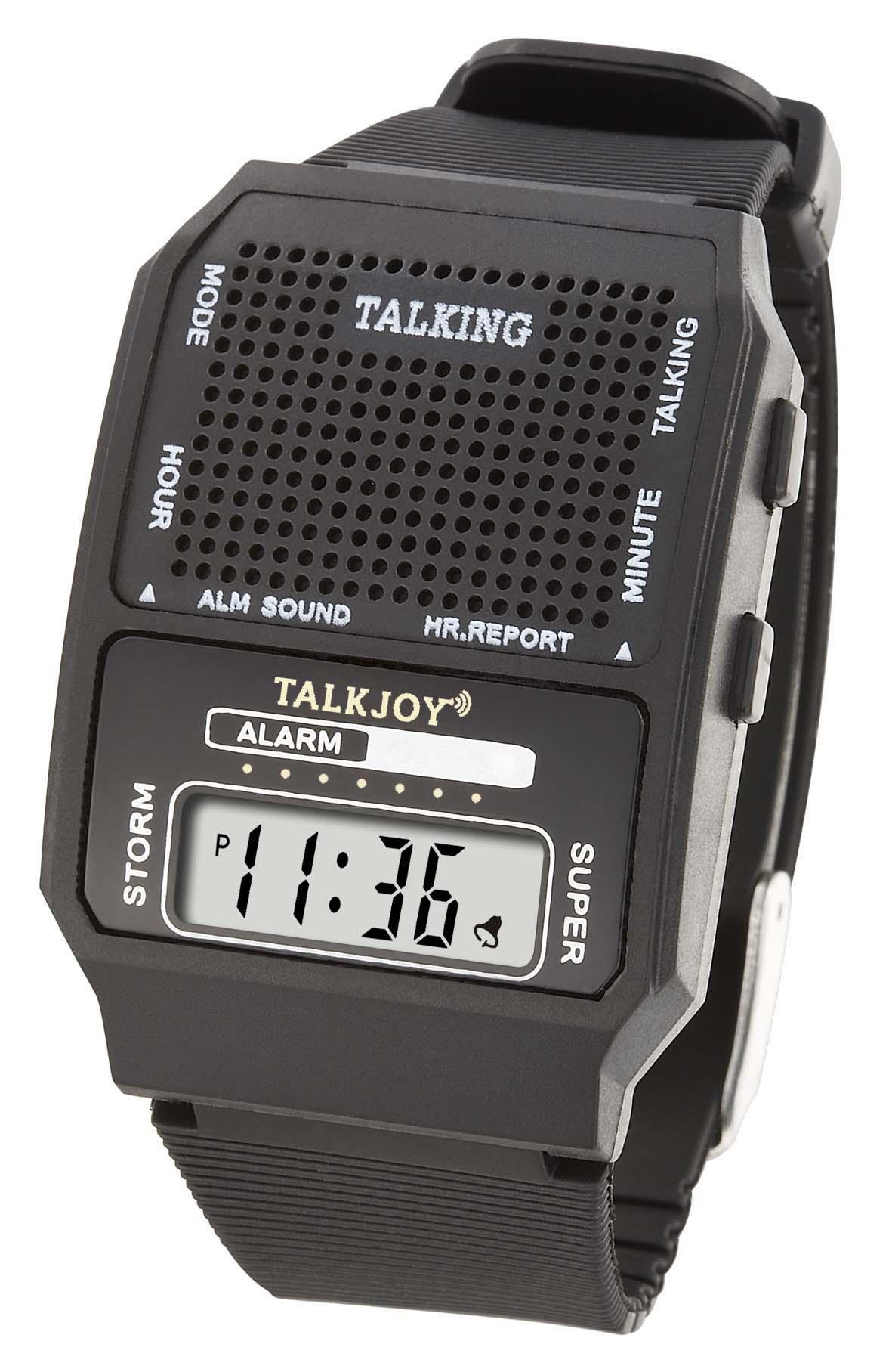 Sprechende Uhr Armbanduhr für Damen Herren Senioren Sprachfunktion Sprachausgabe