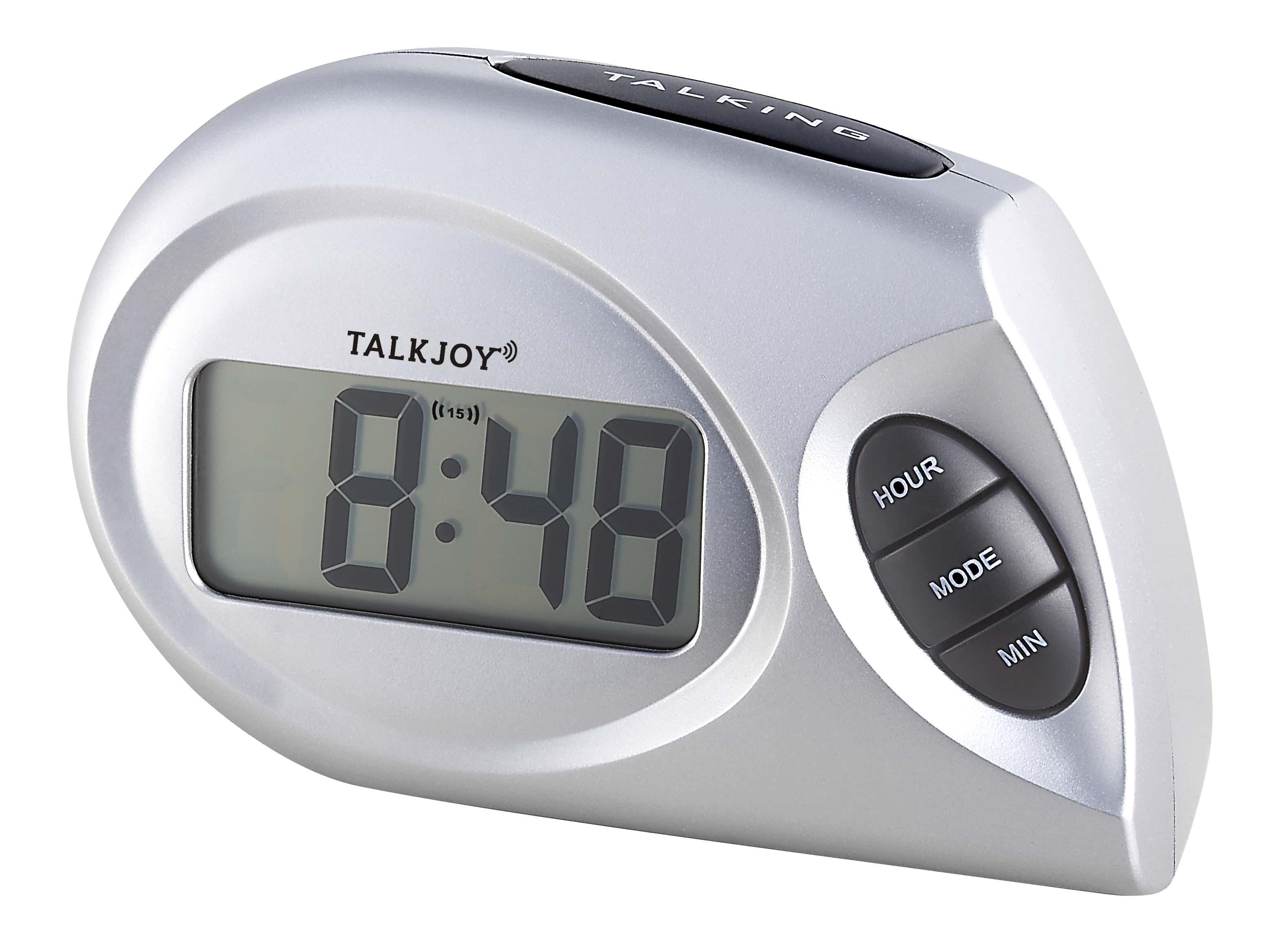 PROFI Sprechende Uhr Tischuhr mit Zeitansage Sprachfunktion Blindenuhr Senioren