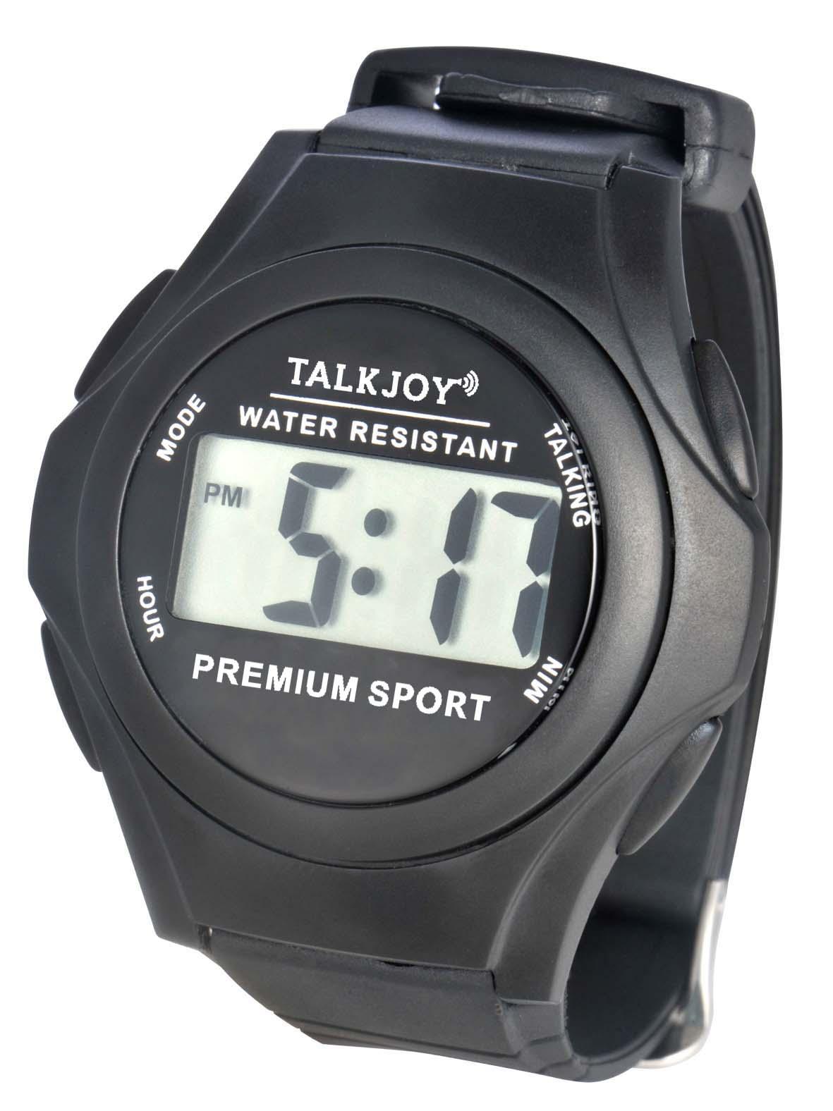 Wasserfeste Sprechende Uhr Armbanduhr Senioren Blinde Sprachfunktion Zeitansage