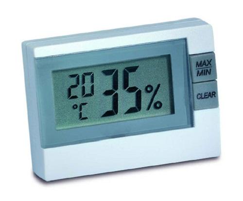 PROFI Digitales Thermometer Hygrometer Luftfeuchtigkeit Temperatur messen Messer