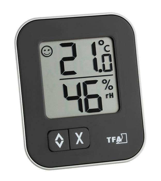 PROFI Digitales Thermometer Hygrometer MOXX Feuchtigkeitsmesser Luftfeuchte