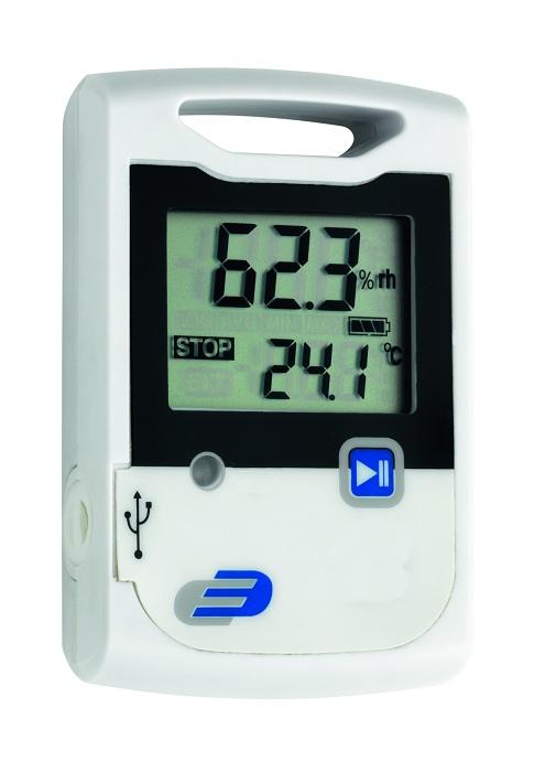 PROFI Temperatur & Feuchte USB Datenlogger Hygrometer Alarmfunktion Alarm Frost