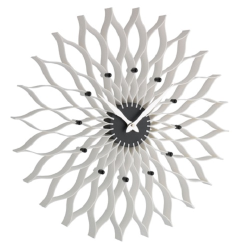 DESIGNER Uhr Wanduhr Lotusblume Wohnzimmer Bürouhr Praxis Flur Badezimmer