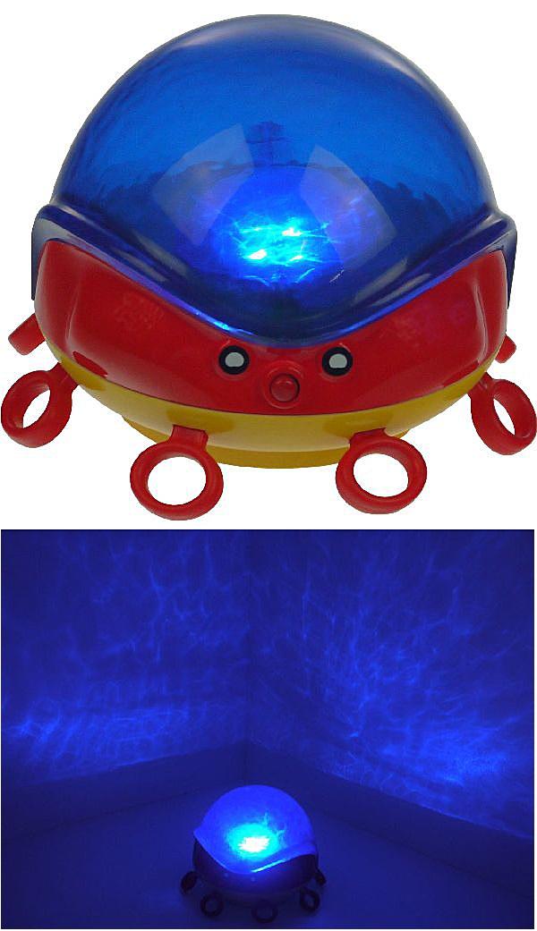 WASSERSPIEL Wasserlicht Krake Unterwasser Lampe Beleuchtung Badewanne Pool Spiel