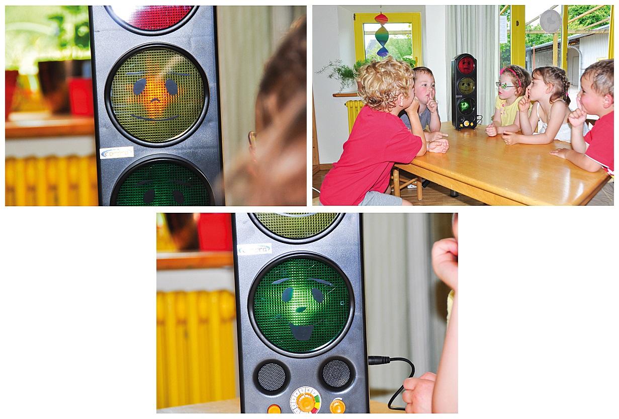 PROFI LED Lärmampel Ampel lärm Schule Klassenzimmer Kinderzimmer Lernspielzeug