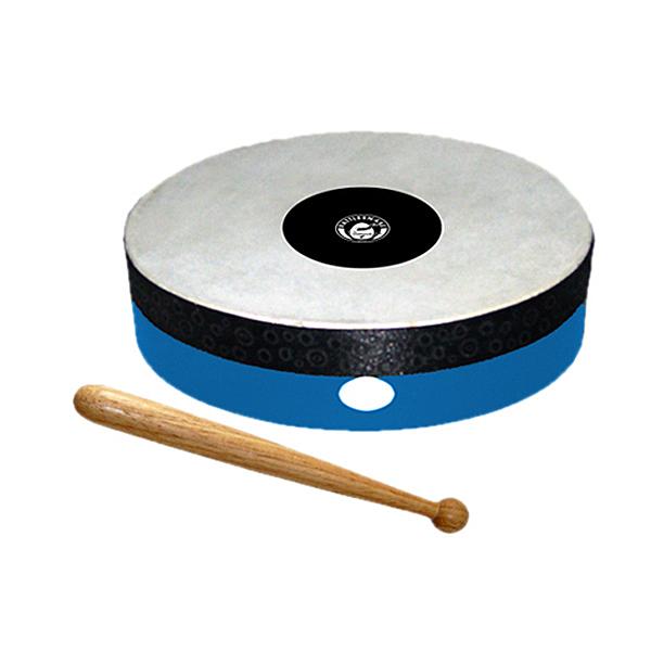 EDEL Handtrommel Trommel Holztrommel 20cm Musikinstrument Karneval Spielmannszug
