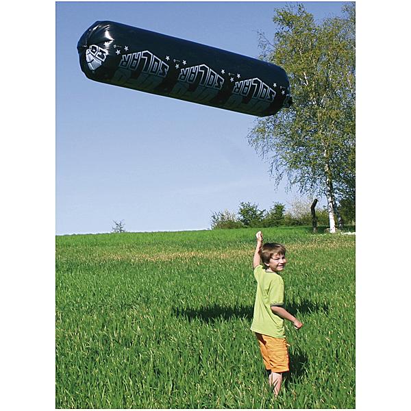 Solarufo Solar Ufo Flugzeug Ballon Luftballon schwarz fliegt mit Solarenergie
