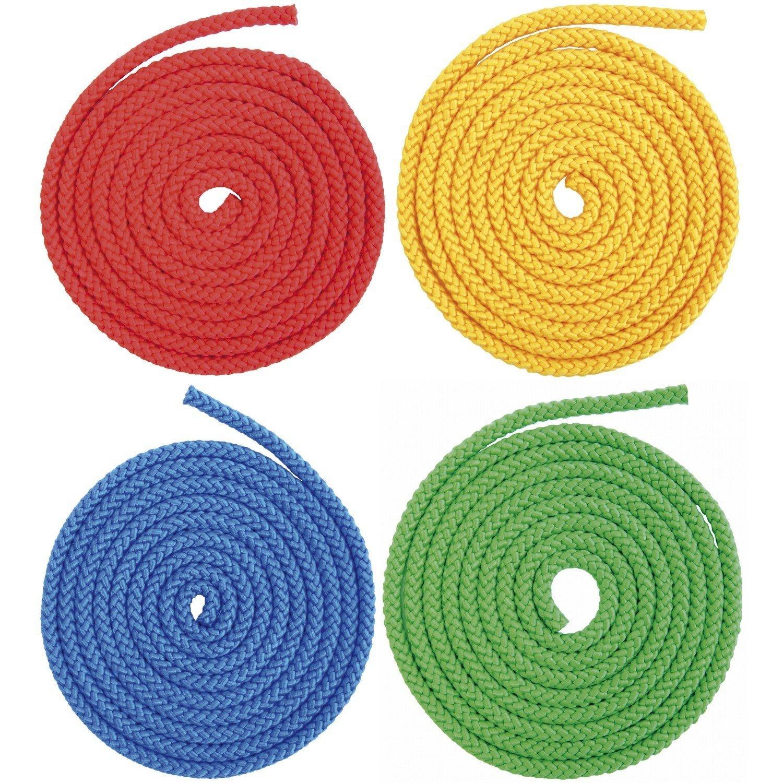 SET 4er Uniseil Seil Universal einsetzbar 8mm / 2,5m Universalseil Zugseil Spinn