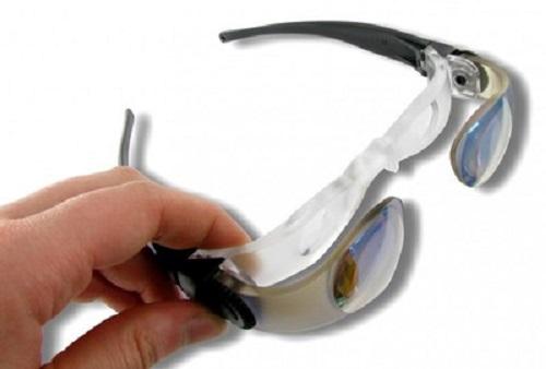 PROFI Lupenbrille Lupe Brille Eschenbach Max-Event Lesehilfe TV Weite Entfernung