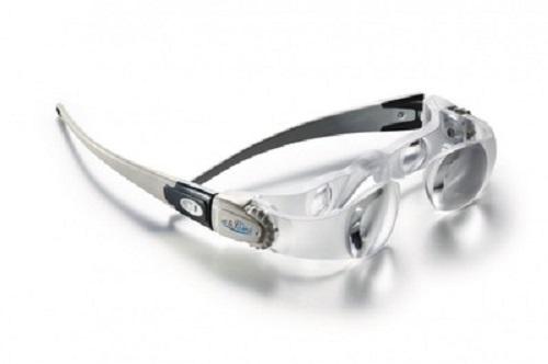 PROFI LupenBrille Eschenbach Max-Detail präzisions Lupe Uhrmacher Bastler Brille