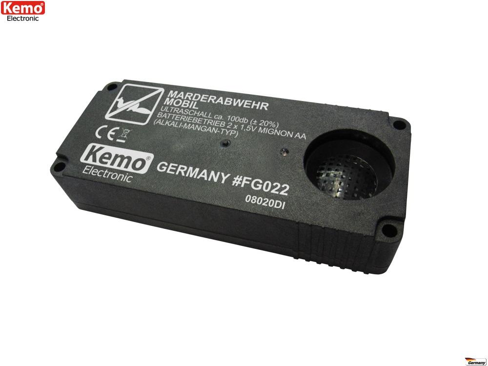 PROFI Ultraschall Marderabwehr mobile Marder-Falle ohne Montage FG022 Schreck EX