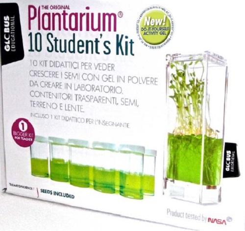 Plantarium f Lehrer Grundschule Gewächshaus Unterricht 10er SET mit Samen Schule