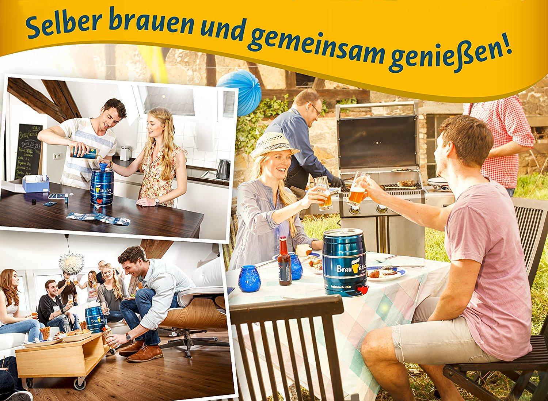 PROFI Heim Bier Brauerei Brauset selber brauen von Zuhause GESCHENKIDEE Rezept