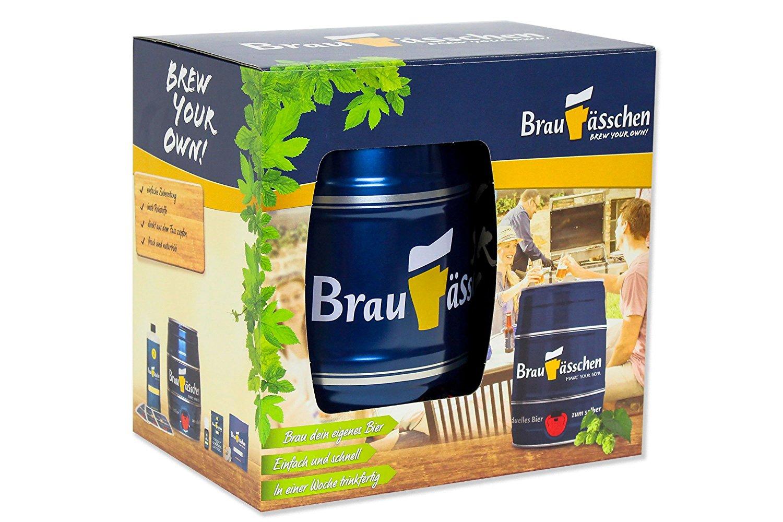 PROFI Pils Bier Brau Set selber brauen Brauerei Braufässchen Bierbrauer GESCHENK