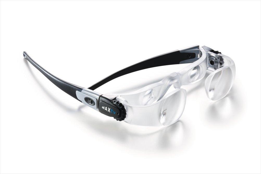 LUXUS Fernsehbrille Brille fernsehen TV schauen Vergrößerung Sehschwäche MaxTV
