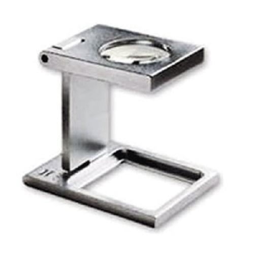 PROFI Präzisions Fadenzähler 12-fach Lupe Mikroskop Messing Vergrößerung Metall