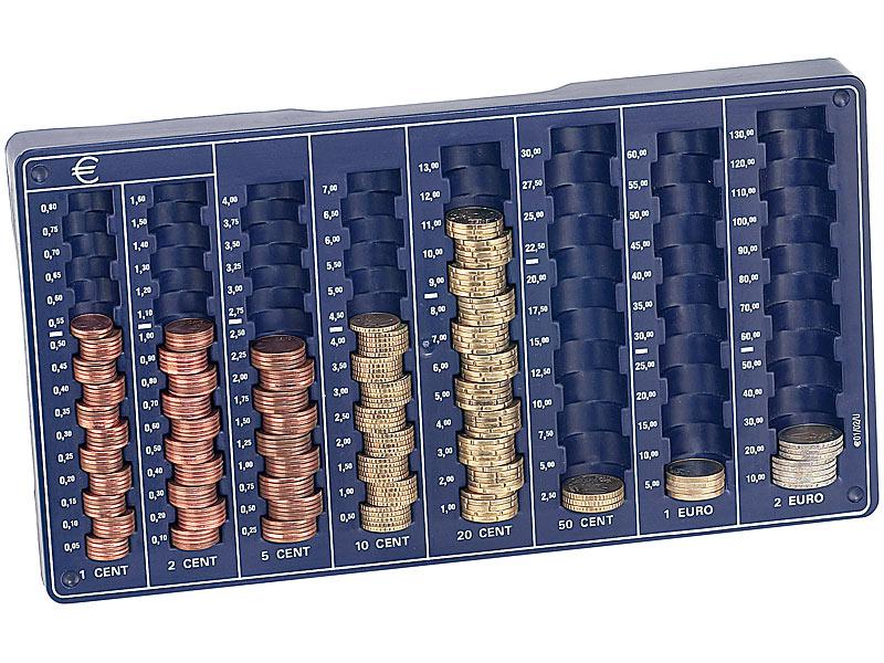 Euro Münzbrett MÜNZ SORTIERER ZÄHLBRETT SORTIERBRETT Euro Münzen sortieren