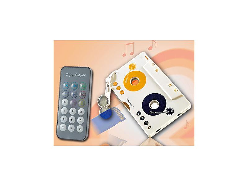 PROFI Kassetten Radio Kfz als CD MP3 Player mit SD Karte Adapter Autoradio