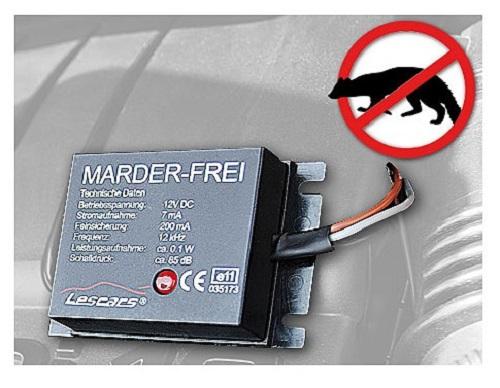 PKW Marderabwehr Marderschreck Marderschutz Anti Marder Ex Vertreiber Scheuche