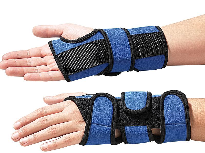 PROFI 2 Handgelenk Bandagen Set Stütze Fitness Rheuma Sport Gelenkschutz Schoner