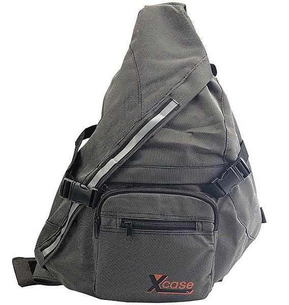 PROFI Bodybag Rucksack Z-Bag Tasche SCHWARZ Body Bag Dreieck EDEL Sport