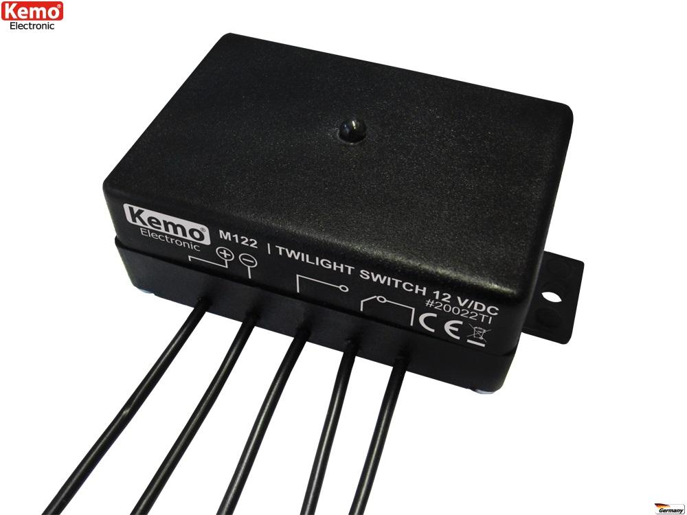 PROFI Dämmerungsschalter KFZ Auto Dämmerung Sensor M122 Wohnwagen Schalter autom