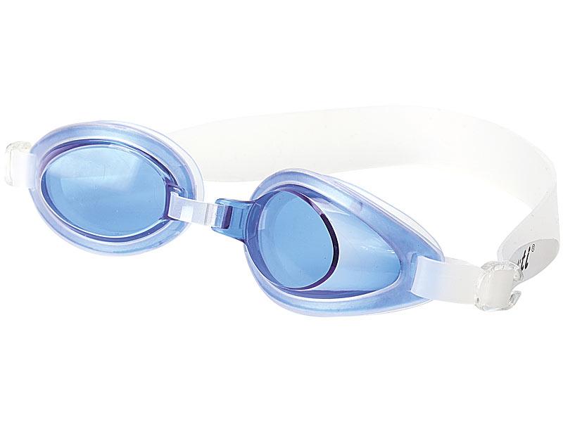 PROFI Speeron Schwimmbrille Taucherbrille Brille tauchen Kinder Erwachsene blau