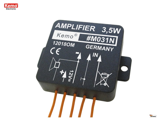 PROFI Verstärker Universalverstärker amplifier M031N 4,5 - 12 V 4 - 16 Ohm 3,5W