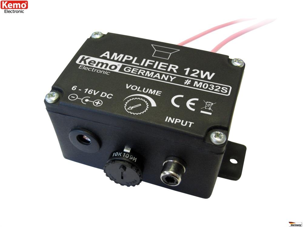PROFI Verstärker Universalverstärker amplifier M032S Audio Endstufe TON lauter