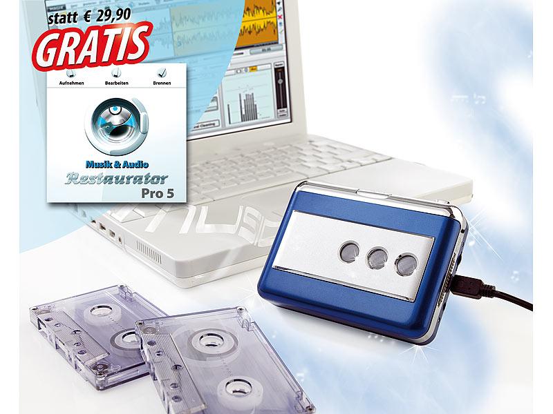 USB MC Kassettenspieler Kassetten auf PC MP3 Player Walkman digitalisieren MCs