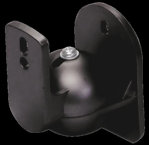 PROFI Wandhalter Wandhalterung SCHWARZ 2 Stk für Boxen Lautsprecher PAAR Halter