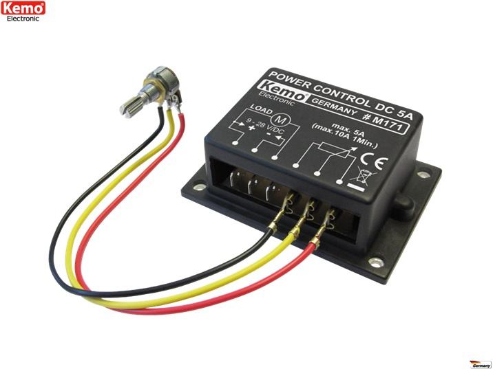 PROFI Leistungsregler Motor Lampen LED 9-28 V/DC M171 Heizung Gleichspannung