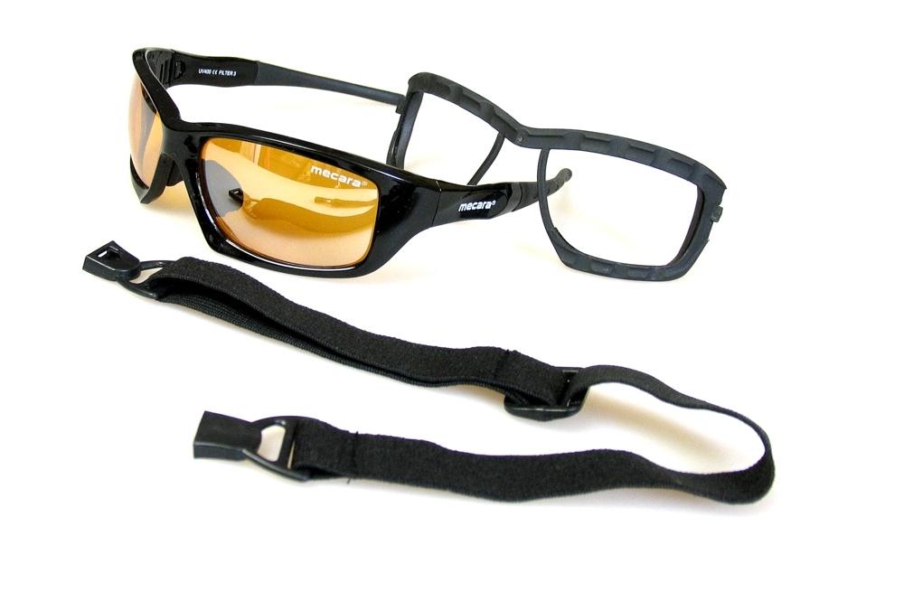 PROFI Sonnenbrille FLASH MIRROR Sport Brille UV400 Ski Stretchband Geschenktipp