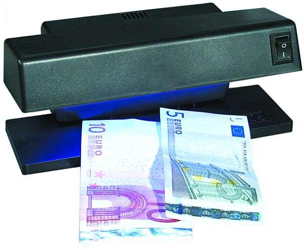 PROFI UV Geldscheinprüfer Tischgerät Falschgeld Schwarzlicht GeldScheine Tester