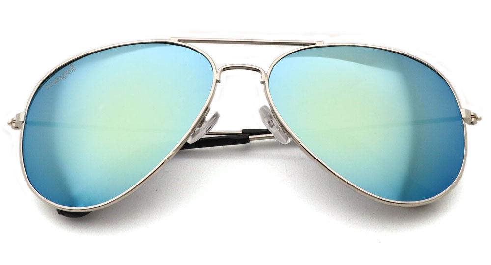 Sonnenbrille Gold Silber Schwarz