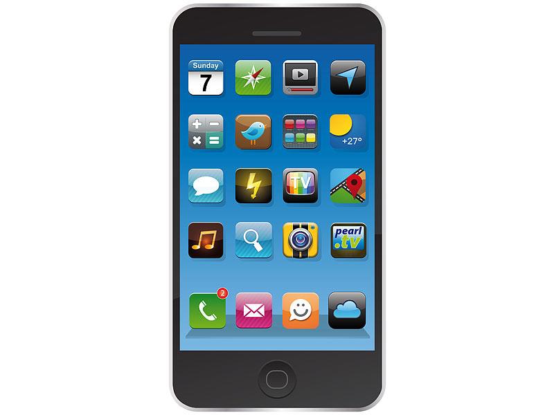 LUXUS Mikrofaser Badetuch Handtuch Smartphone iphone 6 Design Strandtuch Sauna