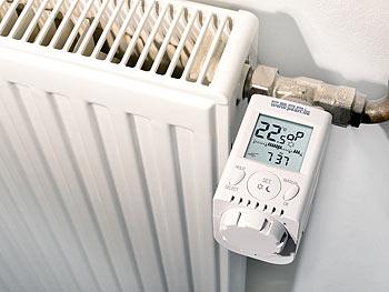 ENERGIE programmierbarer Heizkörper Thermostat Heizung Heizkosten sparen senken