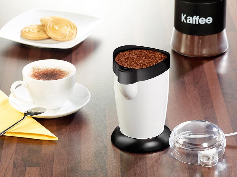 PROFI elektrische Kaffeemühle Schlagmahlwerk Kaffeebohnen Nüsse Zucker mahlen