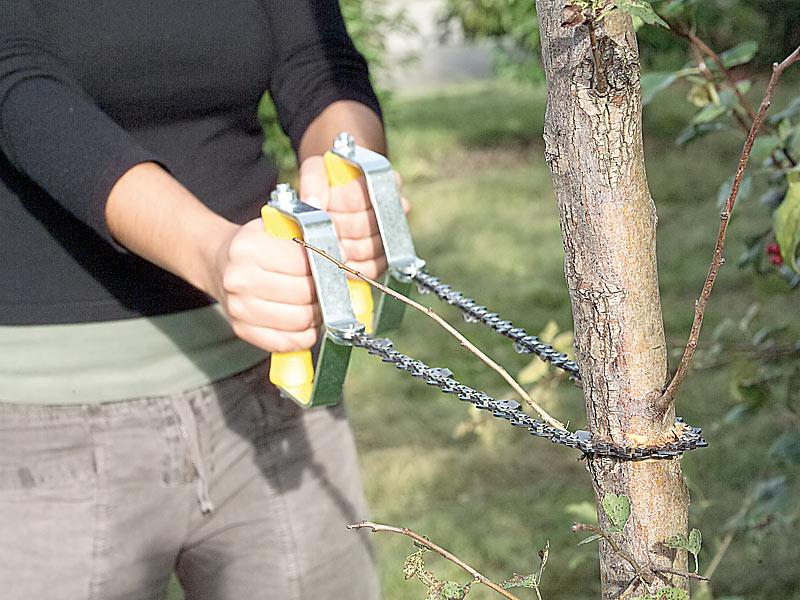 PREMIUM Hand Kettensäge Garten Werkzeug Säge scharf Handsäge Baum fällen