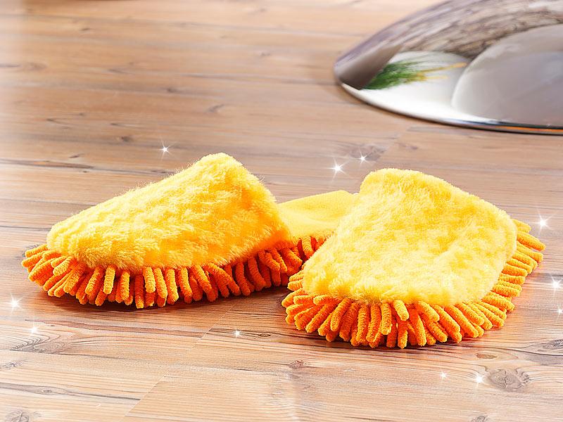 LUXUS Putz Hausschuhe Mikrofaser Sohle Reinigungstuch Boden Schuh Wischer 42-43