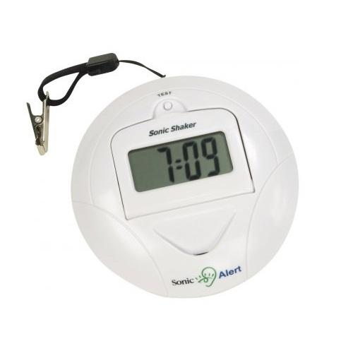 Mobiler Mini Uhr Wecker lauter Reisewecker Vibrierender Vibrationsalarm ALARM