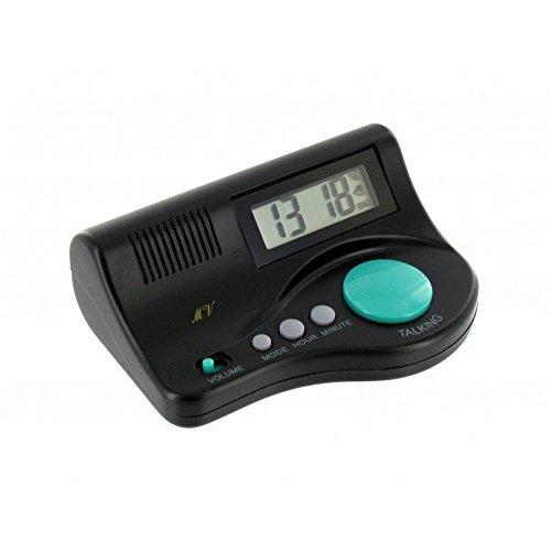 SPANISCH Sprechender Wecker Digitale Sprechende Uhr Sprachwiedergabe Blindenuhr